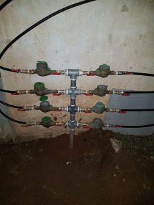 צנרת מים בבניין